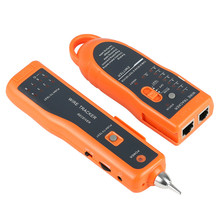 Sıcak satış RJ11 RJ45 Cat5 Cat6 telefon tel Tracker Tracer Toner Ethernet LAN ağı kablo test cihazı dedektörü hattı bulucu