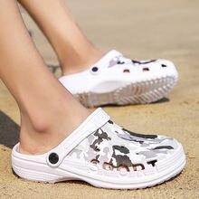 Шлепанцы унисекс из ЭВА сандалии с перфорацией дышащие пляжные