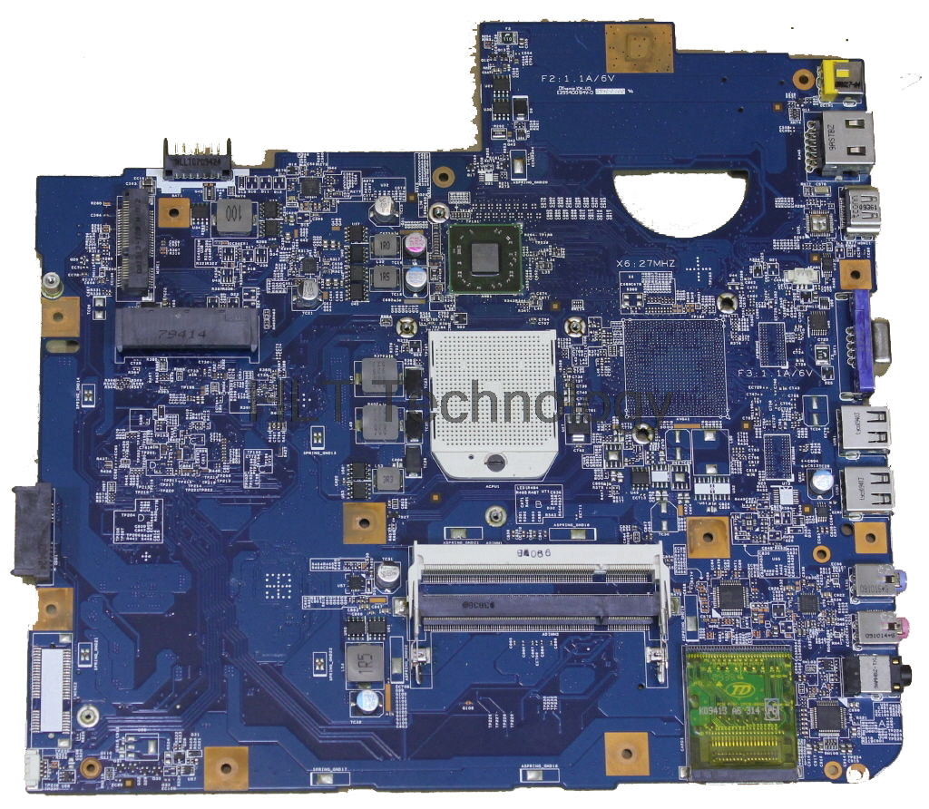 Laptop <font><b>Motherboard</b></font> For <font><b>Acer</b></font> <font><b>aspire</b></font> <font><b>5542G</b></font> 5542 09230-1 JV50-TR MBPHA01001 48.4FN01.011 DDR2 Integrated 100% Tested ok image