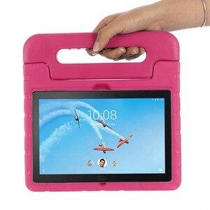 Image 3 - For Lenovo Tab P10 case hand held full body Children kids EVA Handle stand tablet cover for lenovo tab M10 10.1 inch