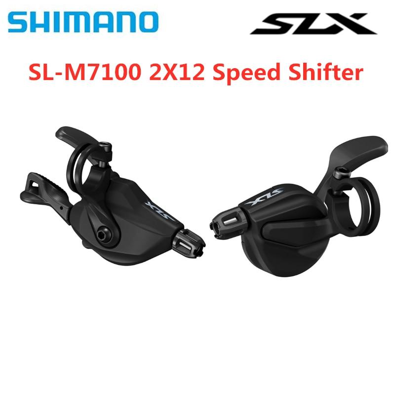 SHIMANO SLX SL-M7100 2s 12s 2x12 Speed Shifter Lever  M7100 Shifter Lever 24 Speed  Original SHIMANO