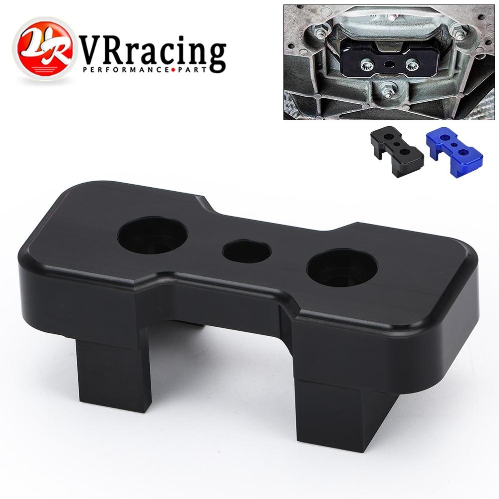 VR RACING - Transmission Mount Insert Billet Aluminum FOR B8 Chassis Audi Models For S-Tronic/Manual VR-TMI01