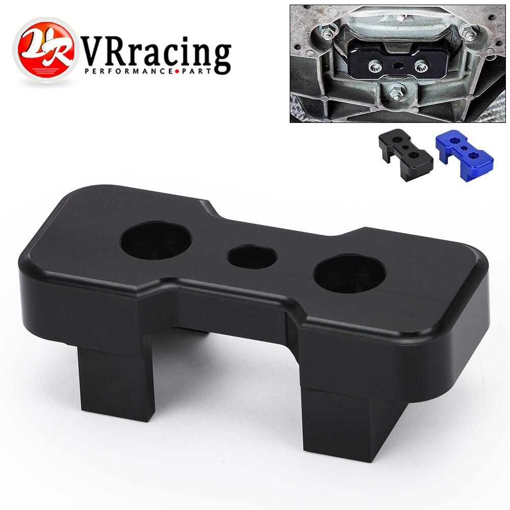 VR - Transmission Mount Insert Billet Aluminum FOR B8 Chassis Audi Models For S-Tronic Manual VR-TMI01