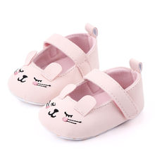 MUQGEW Toddler Girls Shoes 2019 Fashion Newborn First Walker Baby Girls Boys Solid Cartoon First Walker Soft Sole Shoes Sneakers(China)