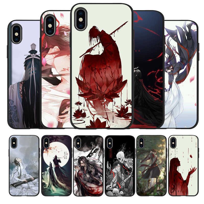 Mo Dao Zu Shi – coque de téléphone en Silicone, étui arrière pour iPhone 11, XR, XS Max, 7, 8, 6, 6S Plus, 5, 5s