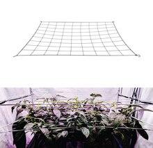 4 شبكة تعريشة المعاوضة دعم النبات مطاطا ScrOG/ LST/ HST صافي مع السنانير للزراعة في الأماكن المغلقة الخيام صندوق عدة تدريب منخفض الإجهاد