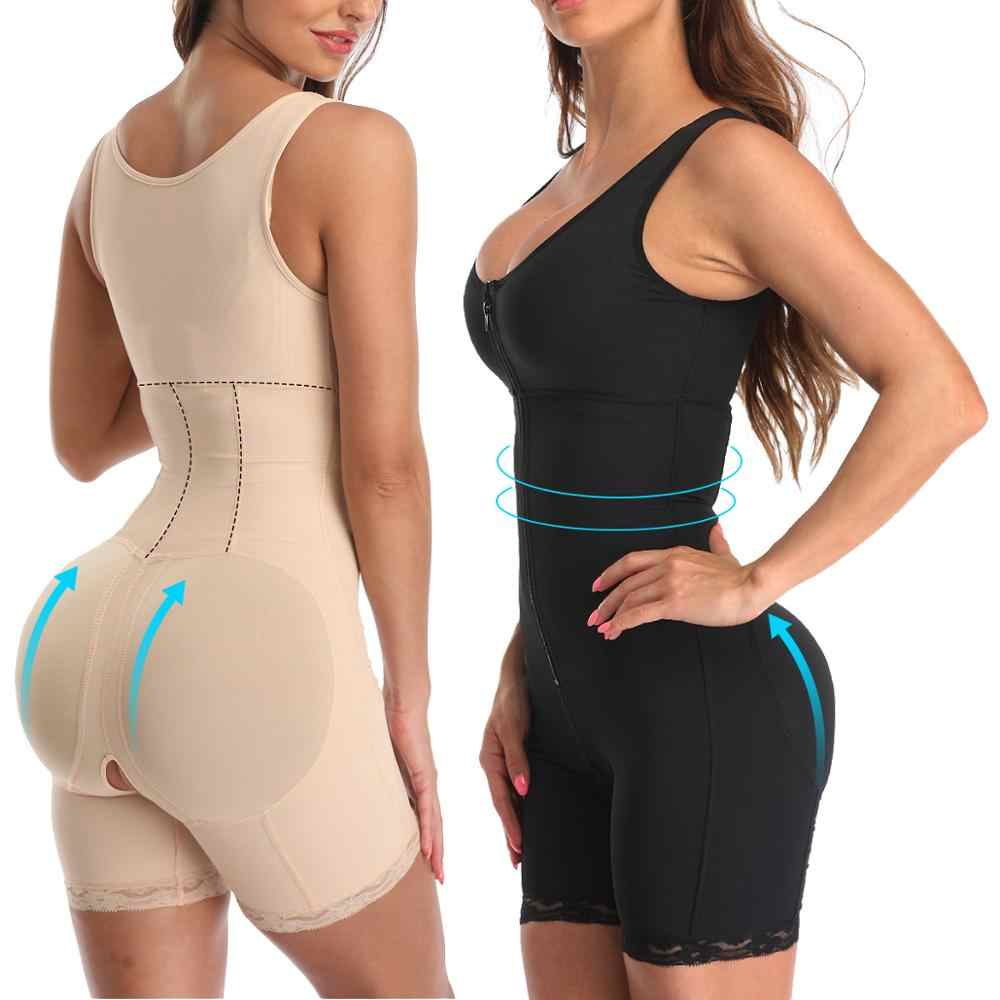Fajas Full Body Shaper Modellering Riem Taille Trainer Butt Lifter Dij Reducer Panties Tummy Control Push Up Shapewear