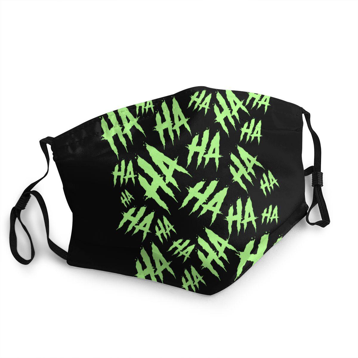 Acid Laugh Non-Disposable Face Mask Joker Gotham Anti Haze Dustproof Mask Protection Cover Respirator Mouth Muffle