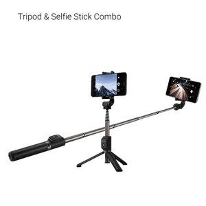 Image 5 - Huawei Selfie מקל חצובה נייד Bluetooth3.0 חדרגל עבור iOS אנדרואיד Huawei טלפון נייד 640mm 163g