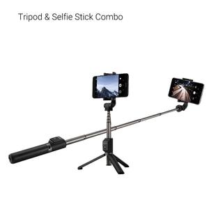Image 5 - Huawei Selfie Stok Statief Draagbare Bluetooth3.0 Monopod Voor Ios Android Huawei Mobiele Telefoon 640Mm 163G