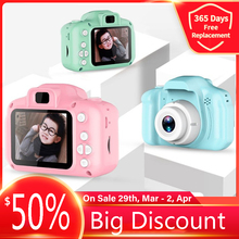 child camera HD Screen Digital kids Video camera 2 Inch Cartoon Video Recorder Camcorder Gift photo camera for children boy Girl