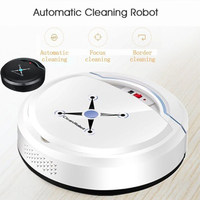 Smart Vacuum Cleaner Sweeping Robot Floor Cleaning Robot White Black Plastic 2018 Intelligent Multi Function Rechargeable