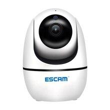 새로운 ESCAM PVR008 보안 모니터링 카메라 자동 추적 PTZ 카메라 2MP 1080P 무선 WIFI IP 카메라 P6SLite