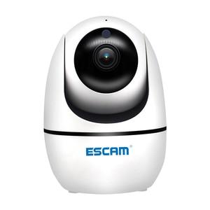 Image 1 - Новинка, беспроводная PTZ камера ESCAM PVR008 с функцией автослежения, 2 МП, 1080P, Wi Fi, IP камера P6SLite