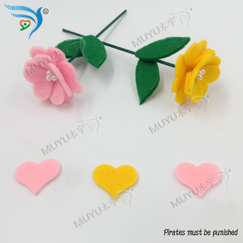 Home Decoration Accessories  Peach Heart  Wooden Die Cutting For Scrapbooking  MY1286