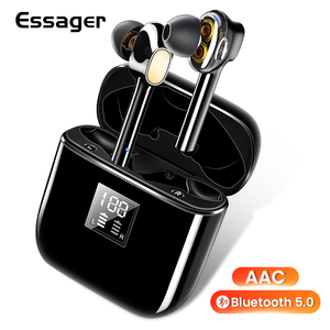 Image 1 - Essager 07B TWS Wireless Bluetooth 5.0 Earphone Headphones Fingerprint Touch Headsets Handsfree True Wireless Earbuds For Xiaomi
