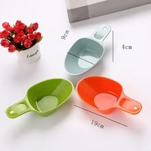 Portable Pet Food Scoop Plastic Measuring Cup Dog Food Scoop Pet Supplies for Dog Cat