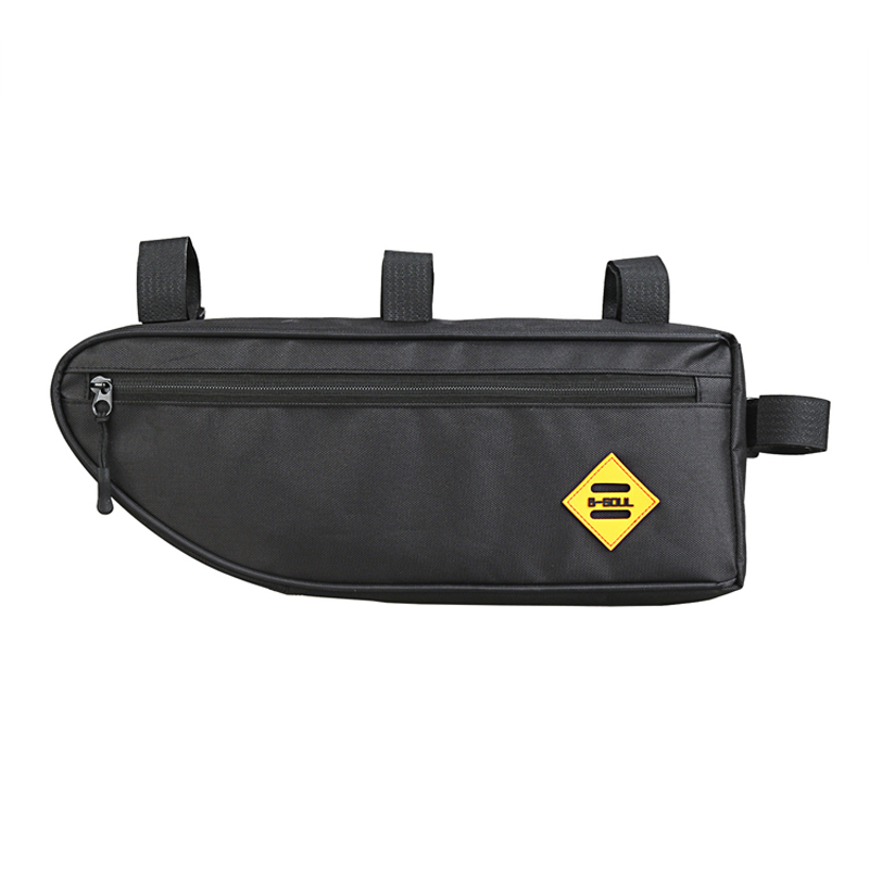 Large Bicycle Triangle Bag Bike Frame Front Tube Waterproof Cycling Pannier Pack