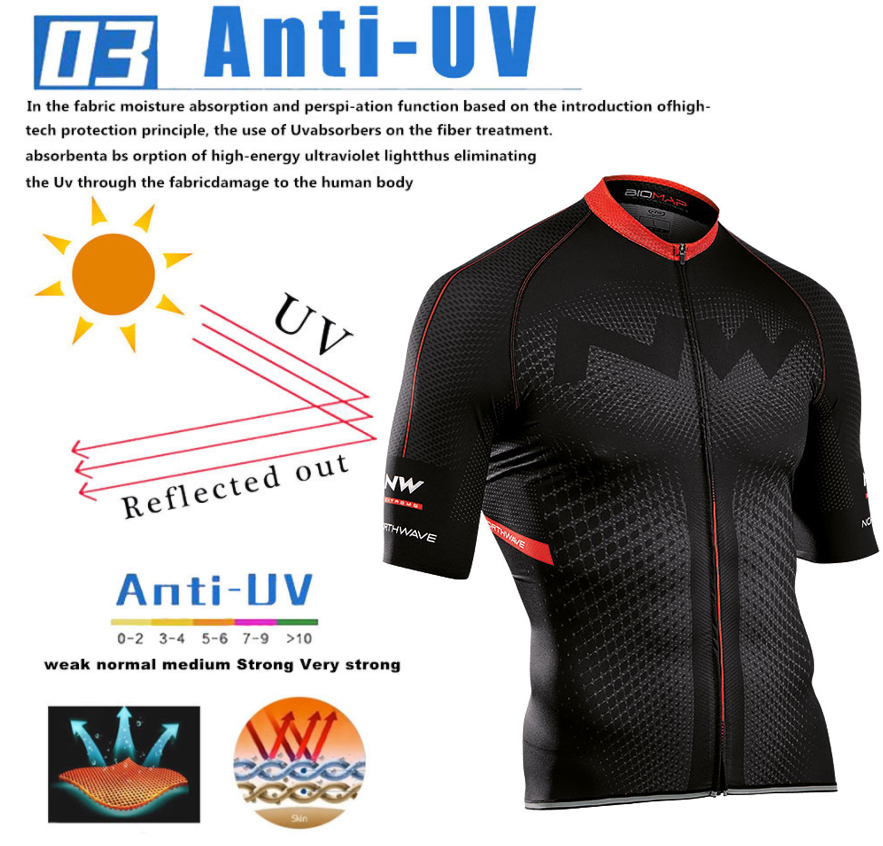 Northwave Nw Summer Cycling Jersey Set Breathable MTB Bicycle Cycling Clothing Mountain Bike Wear Clothes Maillot Ropa Ciclismo 4