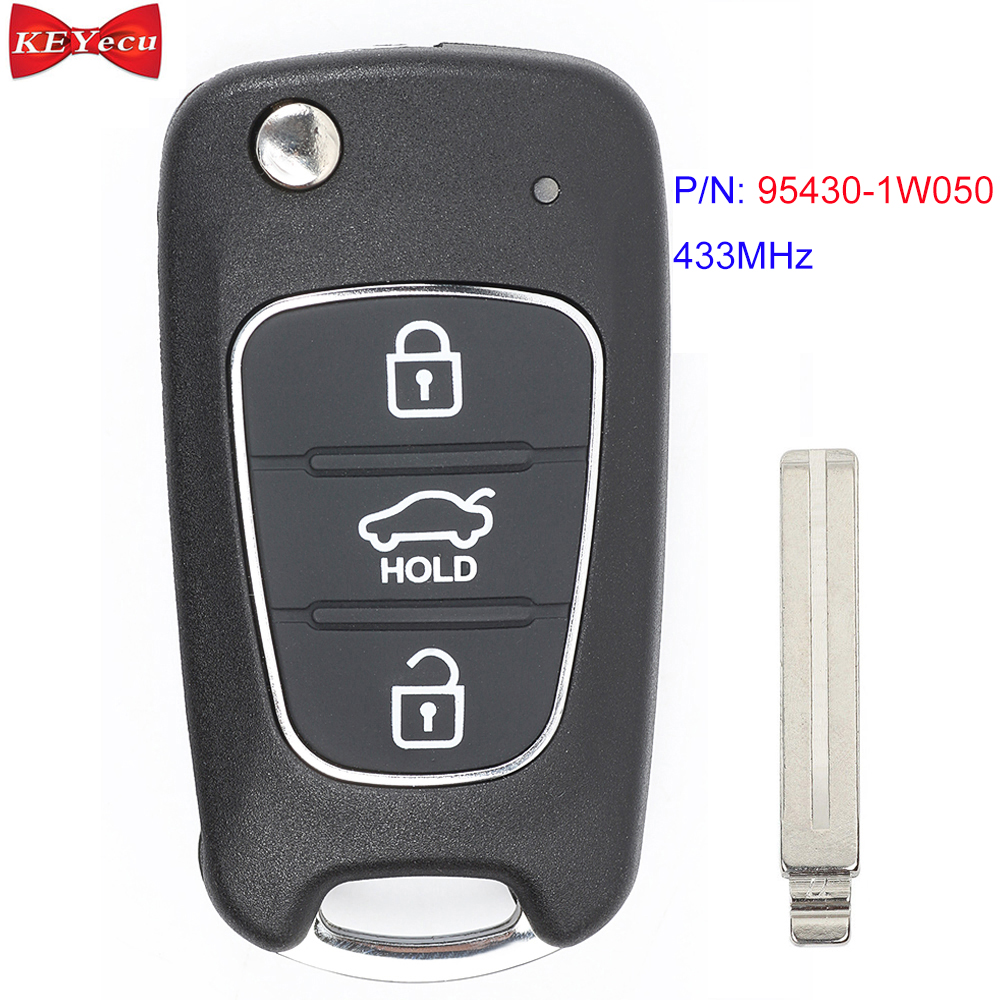 Genuine Aftermarket 433 MHZ Key Fob Remote