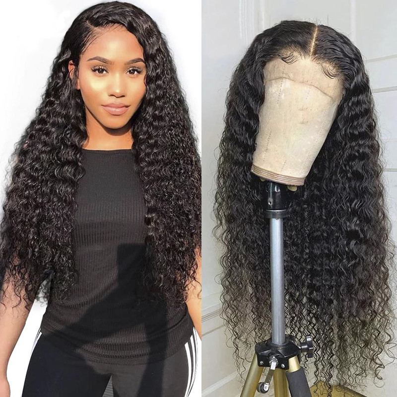 28 Inch Curly Hair Wig Pre Plucked Lacs With Baby Hair13*4 Lace Front Similar To Human Hair For Black Women Real Hair Of Wig