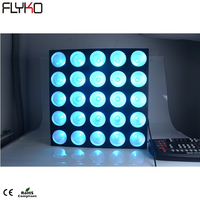 Factory price 5*5 DMX LED Matrix Light RGB Blinder Matrix Light for Stage events