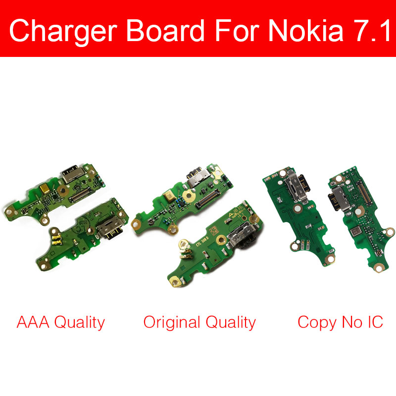 Usb Charging Jack Port Board For Nokia 7.1 TA-1085 TA-1095 TA-1096 TA-1100 POWER Usb Charger Connector Module USB Charger Board