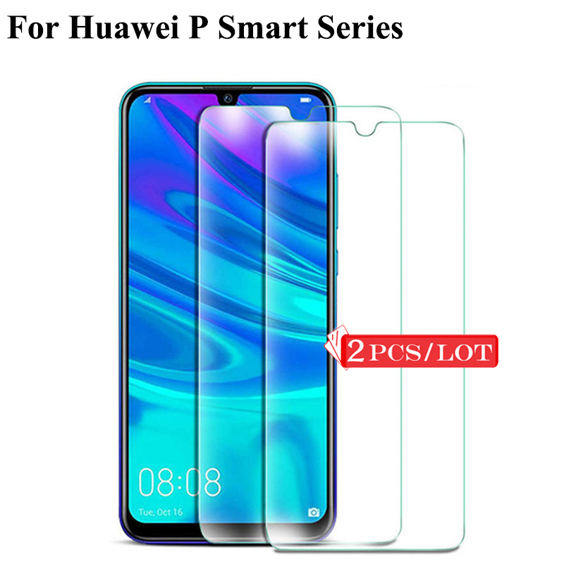 2PCS Toughened Glass For Huawei P Smart 2019 Tempered Glass For Huawei P Smart Plus 2019 Z Glas Screen Protector Protective Film