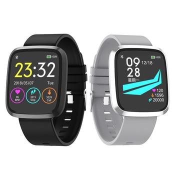 Big Colour Screen Smart Watch ST8 Smart Pedometer Blood Pressure Heart Rate Monitor Sports Watches Waterproof Smart Wristband