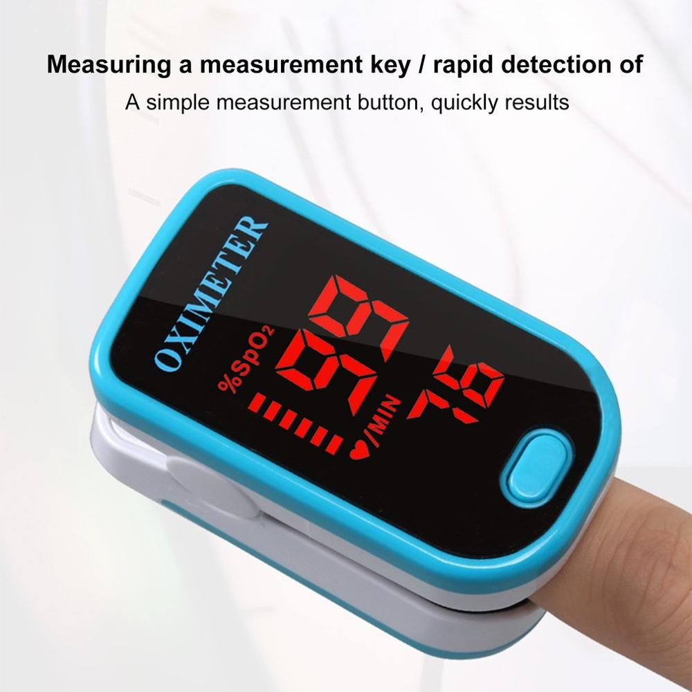 JZ-111R Finger Oximeter Fingertip Pulse Oximeter Medical Equipment With Sleep Monitor Heart Rate Spo2 PR Pulse Oximeter
