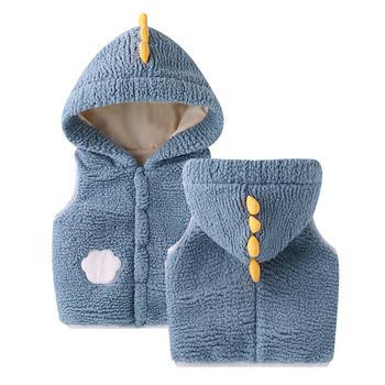 LZH 2021 nowa jesienna wiosna dzieci kamizelki płaszcze noworodka ciepłe kamizelki dla chłopców i dziewcząt kamizelki niemowlę dziecko kamizelki Unisex tanie i dobre opinie W wieku 0-6m 7-12m 13-24m CN (pochodzenie) COTTON CASHMERE Z kapturem Kurtki płaszcze baby waistcoats Dobrze pasuje do rozmiaru wybierz swój normalny rozmiar