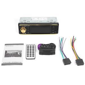 "Image 5 - VODOOL 4019B 1din Auto Radio 4.1 ""Bluetooth Autoradio Stereo MP5 Player AUX USB FM Backup Kamera Auto Audio Auto multimedia Player"