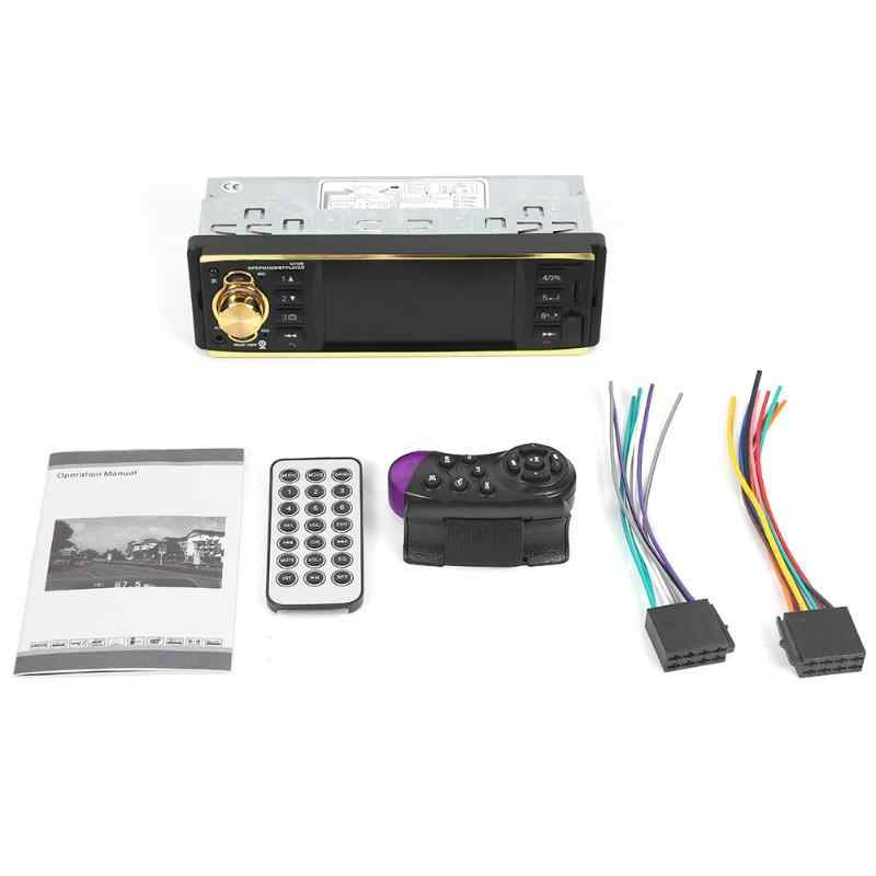 "Vodool 4019B 1din Mobil Radio 4.1 ""Bluetooth Auto Radio Stereo MP5 Player AUX USB FM Kamera Cadangan Auto Audio Mobil pemain Multimedia"