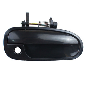 Image 3 - LARBLL 4PCS/Set Car Front Rear Left Right Black Outside Exterior Door Handle for Honda Civic EK3 1996 2000
