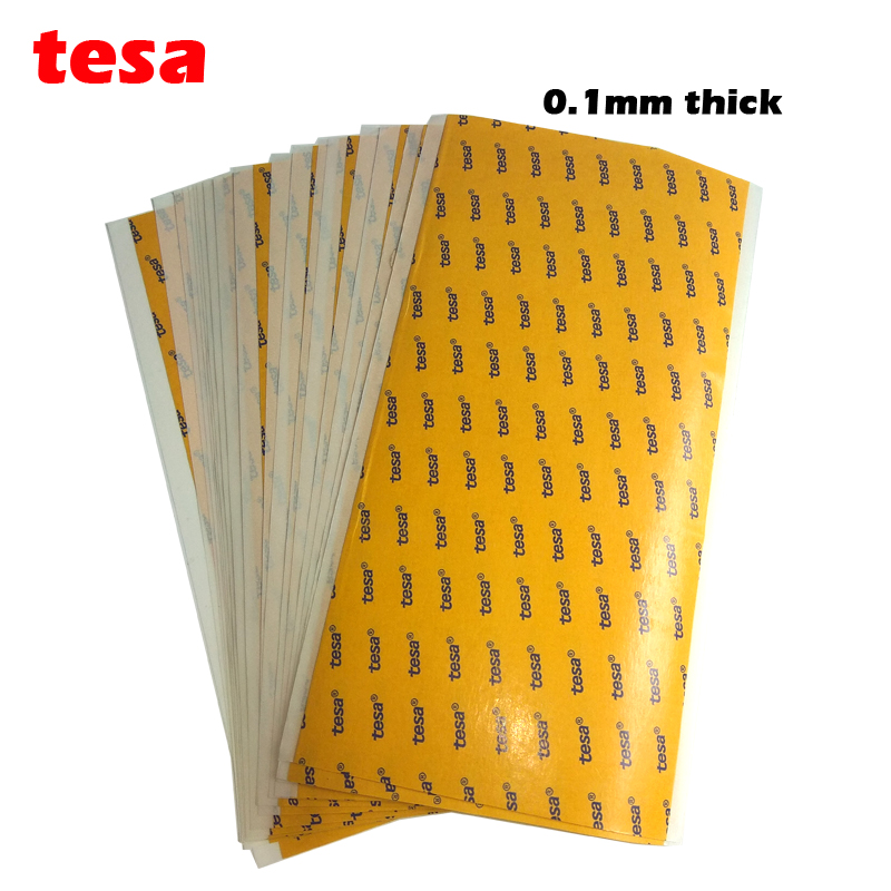 TESA 68547 Thin 0.1mm Thick PET Double Sided SUPER STICKY HEAVY DUTY ADHESIVE SHEET 4