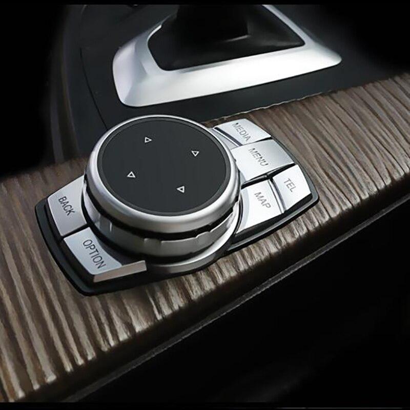 For BMW New 5 Series X1X3X4X5X6   New 1 Series 3 Series Multimedia Button Frame Button Interior Modification