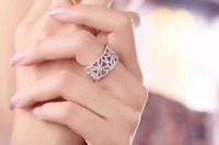 famous brand extremely rings for women,AAA ziron cz stone 925 sterling silver jewelry