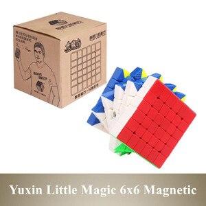 Yuxin Little Magic 6x6 магический куб магнитный 6 м магический скоростной куб