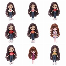 Blyth Doll Clothes 11 Styles 1 Set Clothes=Sweater+Jeans +shoe for 30 Cm 1/6 Blyth Dress For Generation Girl`s Christmas Toy lovely dress for blyth doll clothes christmas gift toy dress for blyth doll 1 6 30cm doll