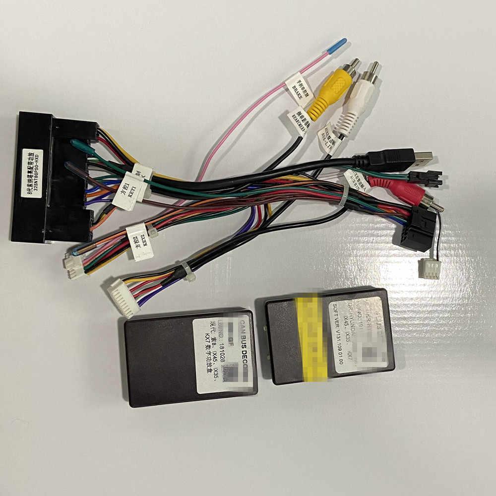 ZOYOSKII canbus dekoder kutusu sonata 8 için en iyi araba modeli fabrika amplifikatör