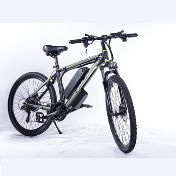 Tire size: 26/27.5/29 inch C6 F Aluminum Electric Mountain Bike 7 Speed E-Bike 48V Lithium Battery 350W Electric Bicycle 2
