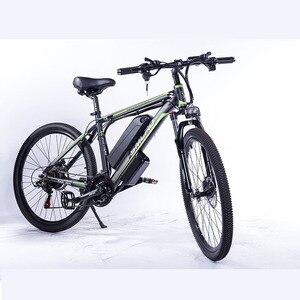 Image 2 - حجم الإطارات: 26/27.5/29 بوصة C6 F الألومنيوم دراجة جبلية كهربائية 7 سرعة E الدراجة 48 فولت بطارية ليثيوم 350 واط دراجة كهربائية