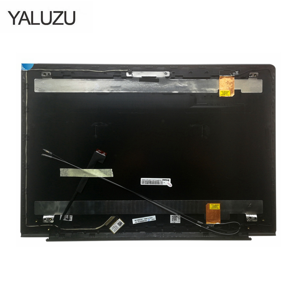 YALUZU New case cover for Lenovo ideapad <font><b>510</b></font>-15 <font><b>510</b></font>-<font><b>15ISK</b></font> <font><b>510</b></font>-15IKB laptop LCD top cover case laptop accessories image