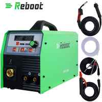 Reboot MIG Welder 200A Gas and Gasless MIG/Stick/Lift TIG/MMA Welder 4 in 1 Flux Core /Solid Wire MIG Inverter Welding Machine