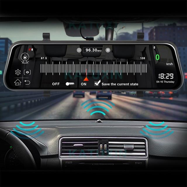 "KATUXIN 10"" Touch 4G ADAS Android 8.1 Mirror Dash Cam GPS Nav WIFI Bluetooth Streaming media Rear View Mirror DVR Recorder T991 2"
