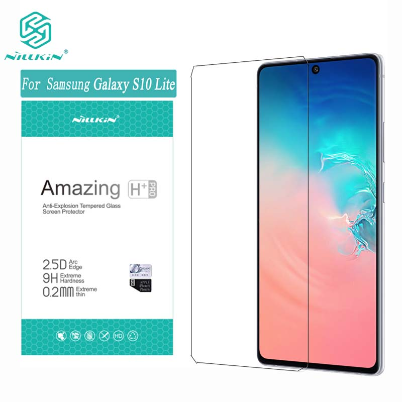 For Samsung S10 Lite Tempered Glass Nillkin 9H/ H+Pro Anti-burst Protective Film for Samsung S 10 Lite Screen Protector