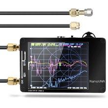 Meterk Профессиональный портативный ЖК-цифровой Ручной коротковолновый MF HF VHF UHF антенный анализатор 50 кГц-900 МГц векторный сетевой анализатор