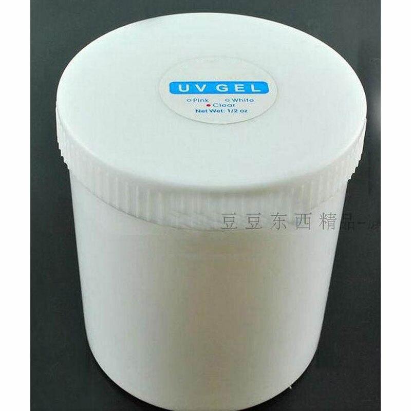 1 KG Clear UV Gel Nail Polish Builder Transparent Nail Gel Polish Nail Art Manicure Tools