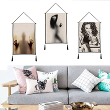 Sexy Beauty tapestry Hanging picture decorative paintings household textile custom polyester 45cm*65cm