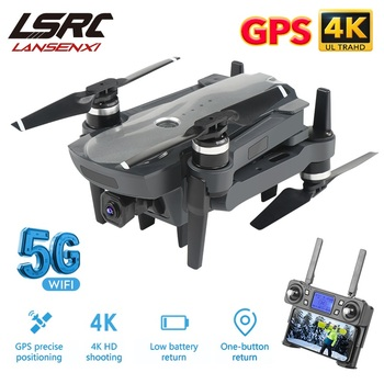 LSRC Gps Drone K20 5G HD 4K Camera Professional 1800m Image Transmission Brushless Motor Foldable Quadcopter RC Dron Gift